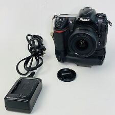 Nikon D D300S 12.3MP Digital SLR Camera- Black-Kit w/ DX NIKKOR 35mm f/1.8G Lens