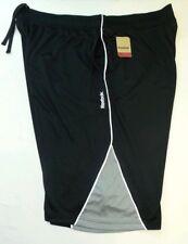 Reebok hombre pantalones cortos 2xl Negro Gris Blanco Deporte Deportivo