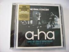 A-HA - LIVE AT OSLO SPEKTRUM - CD SIGILLATO 2011
