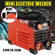 220V 20-250A Handheld Mini Electric Welder Inverter ARC Welding Machine Tool