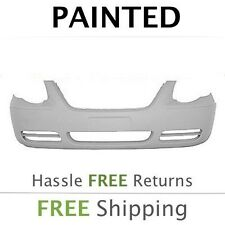 NEW 2005 2006 2007 Chrysler Town & Country w/oFog Front Bumper Painted CH1000434