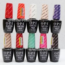 OPI GelColor Kit - SET OF 10 Any Soak Off Gel Nail Colour UV Led Lot    Ship 24H