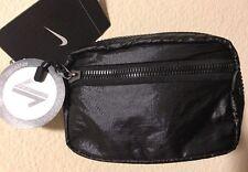 New Nike Studio Kit  Reversible Bag Tote Pouch XS  Black/Fuchsia