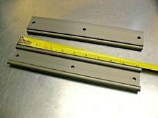 Qty 2 - Rexroth Aluminum Linear Rail WS-10-4-260mm, 3 Hole