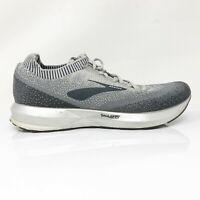 Brooks Womens Levitate 2 1202791B178 Black Gray Running Shoes Lace Up Size 10 B
