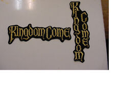 """set of 2 Kingdom Come Vintage Iron Patch 90's Heavy Metal 6.5""""- 2 styles"""