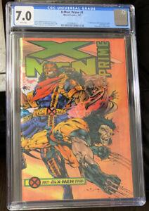 Marvel Comics X-Men Prime #1 CGC 7.0 Bishop*Wolverine*Storm*Beast Gambit