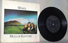 "The Beatles-Paul McCartney-Wings-45 RPM-7""-Capitol Records-""Mull of Kintyre"""