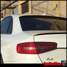 COMBO Rear Roof Wing & Trunk Lip Spoiler (Fits: Audi A4 2008-15 B8 4dr sedan)