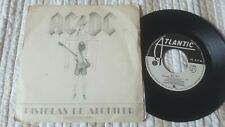 "AC/DC Pistolas de Alquiler/ Guns For Hire 7"" SINGLE Spanish 1983"