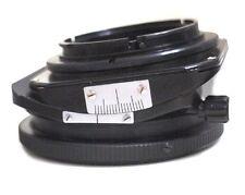 ARAX TILT-SHIFT ADAPTER Rotator for Arax,Pentacon Six,Kiev lens on CANON EOS cam