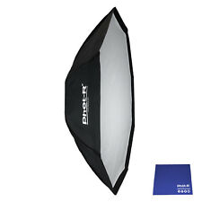 "Phot-R 120cm/48""Octagon Umbrella Flash Softbox Reflector Bowens Chamois Cloth"