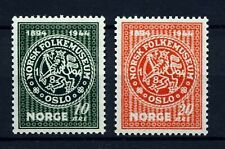 NORWAY 1945 Folklore Museum (272-273) - Mint Never Hinged