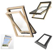 Dachfenster Optilight B 78x118 Schwingfenster aus Holz Uw=1,3 incl Eindeckrahmen