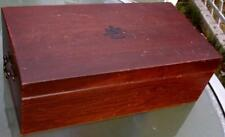 17.25 x 9 x 6 inch Cigar Box by Reed and Barton Lot 108