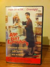 Age isn't everything VHS cassette Jonathon Silverman Dino Video comedy 1991