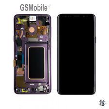 Samsung G960F Pantalla LCD Original para Samsung Galaxy S9 - Negro