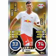 Fußball Saison 2016 Gold Trading Cards