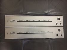 ALTEC 1530 T face plate pair for tube amplifire
