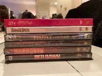 Mixed lot of 6 BRAND NEW DVD's (hangover, space Jam, Hurt Locker, Red Dawn, Etc)