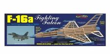 Guillows F-16a Fighting Falcon Balsa Scale Model Aircraft Kit G1403