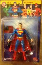 DC Direct SUPERMAN AMERICAN FLAG Angry Face VARIANT Justice League Universe JLA