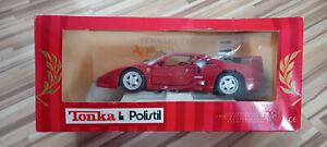 TONKA / Polistil Auto , 1 : 18 , gebraucht , Ferrari F 40