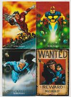 Marvel Masterpieces 1992 Trading Card Lot Nova Northstar Nomad Quicksilver
