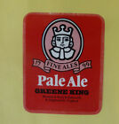VINTAGE BRITISH BEER LABEL - GREENE-KING BREWERY, PALE ALE