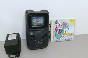 Console PC Engine GT entièrement révisée et garantie + Bomberman 94 - NEC