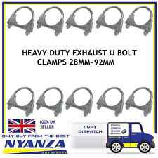 Universal Exhaust U Bolt Clamp Car Van TV Aerial 36mm-92mm Heavy Duty