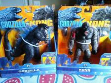 KING KONG VS GODZILLA MOVIE GODZILLA HEAT RAY + KONG BATTLE AXE  PLAYMATES