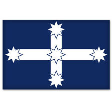 "Eureka Flag Australia car bumper sticker decal 4"" x 6"""
