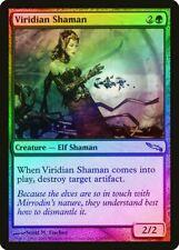 Viridian Shaman FOIL Mirrodin NM Green Uncommon MAGIC GATHERING CARD ABUGames