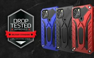 Case Cover for iPhone 7 8 11 12 Mini Pro Max SE 2020 Kickstand Rugged Shockproof