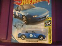 Hot Wheels '91 MAZDA MX-5 MIATA 4/10 SpeedGraphics M09 *New* LongCard