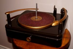Vintage Late 1940's -1950 SILVERTONE 101.761-3 RECORD PLAYER TURNTABLE MINT!!