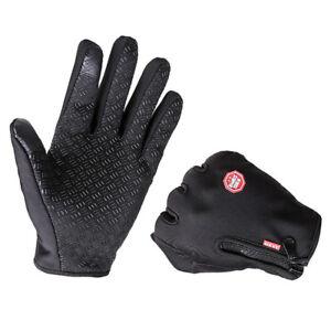 Men Women Winter Warm Windproof Waterproof Thermal Touch Screen Gloves Mitten YH