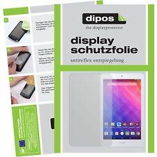 2x Acer Iconia One 8 B1-820 Schutzfolie matt Displayschutzfolie Folie dipos