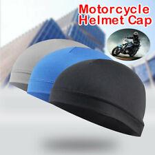 Moisture Wicking Cooling Sunscreen Helmet Inner Liner Beanie Dome Cap Sweatband