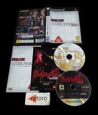 BIOHAZARD CODE VERONICA Resident Evil Sony PlayStation 2 PS2 Play2 JAP Capcom