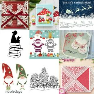 Christmas Metal Cutting Dies Stencil Die Embossing Card Paper Lace Decor