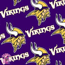 Minnesota Vikings NFL Fleece Fabric 6457 D