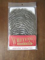 Fly Tying-Whiting Farms Spey Mini Bird Fur Silver Dr Blue