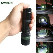 Ultrafire Zoomable  LED XM-L  6000LM T6 LED Flashlight 18650 Torch Bright Light@