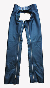 """Brand New 100% Real Leather Chaps size 34"""" waist"""