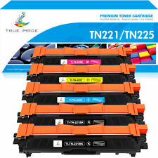 5x Compatible with Brother TN221 Black TN225 Color Toner MFC-9130CW MFC-9330CDW