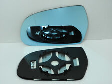 For AUDI A5 2010-2016 Wide Angle Wing Mirror Glass  HEATED Left side BLUE A025