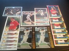 Lot Frank Thomas & Robin Ventura RCs, Insert Cards, Topps, Upper Deck, White Sox