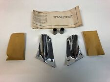 NOS 1959 Pontiac Bonneville Catalina Safari New Pair Unity Spotlight Brackets